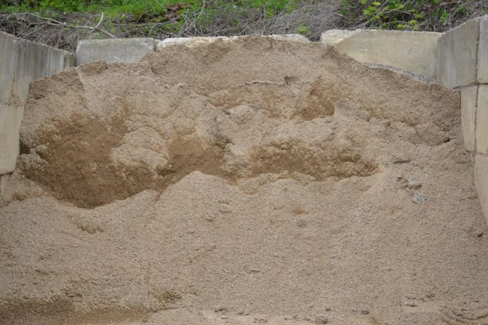 Sand from Mulder's Landscape Supplies