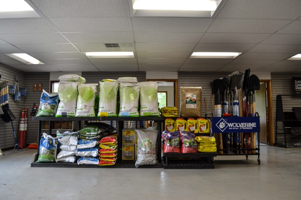 Grass Seed and Supplies form Mulder's Landscape Supplies