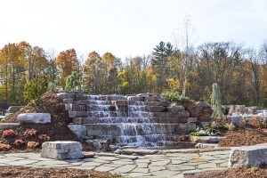 Mulder's Landscape Supplies waterfall - services